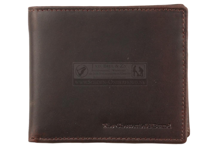 3f8a1d19c6c Heren portemonnee klein bruin